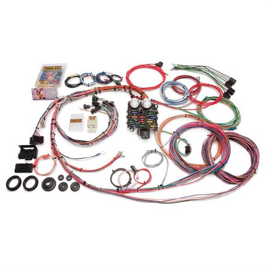 painless wiring 10112 19 circuit wire harness for 1963 66 gm pickups Hot Rod Wiring Harness
