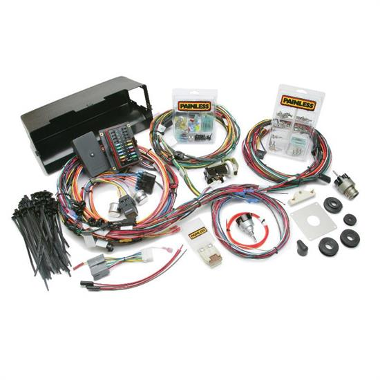 painless wiring 10113 1966 77 ford bronco chassis wiring harness rh speedwaymotors com early bronco wiring harness forum bronco tailgate wiring harness