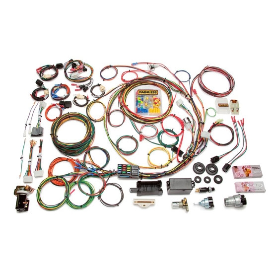 Painless Wiring 10118 21 Circuit Wire Harness, 1967-77 Ford F-Series | Ford F250 Wiring Harness |  | Speedway Motors