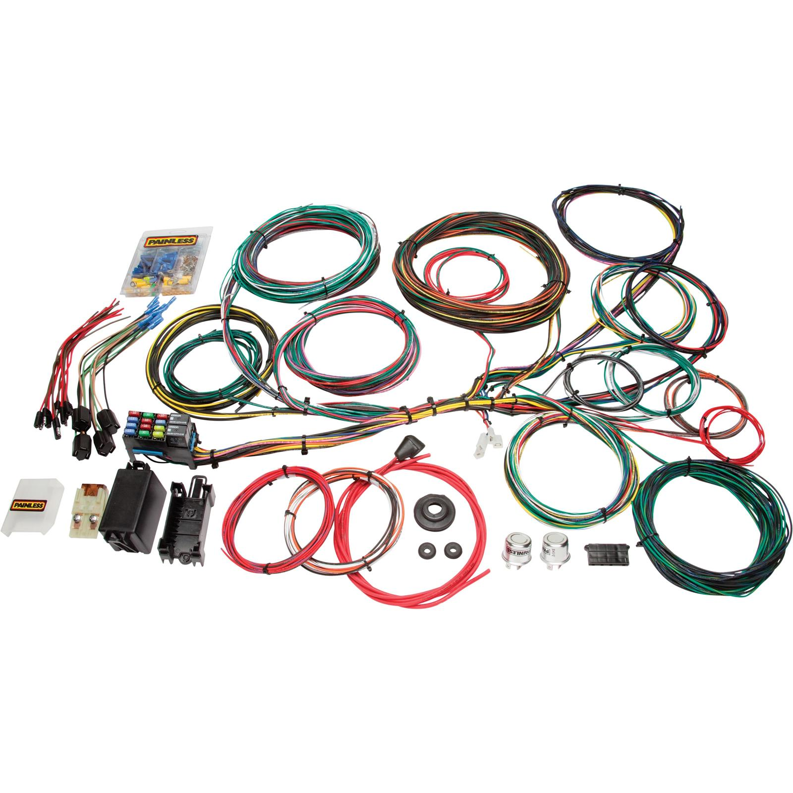 [ZHKZ_3066]  Painless 10123 1966-1976 Ford Muscle Car 21 Circuit Wiring Harness | 1966 Ford Falcon Wiring |  | Speedway Motors