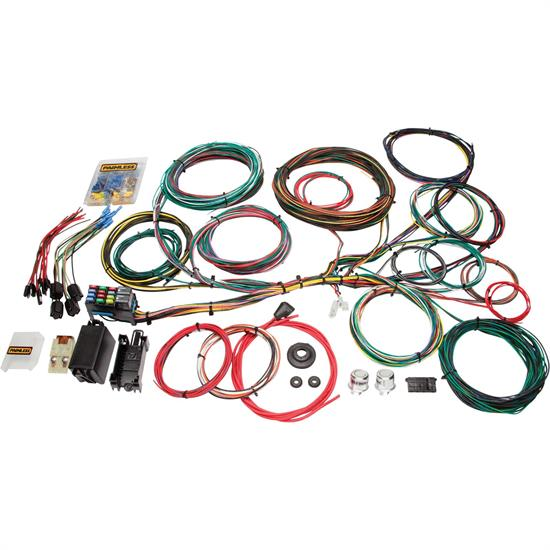 painless 10123 1966 1976 ford muscle car 21 circuit wiring harness Mustang Headlight Wiring Harness