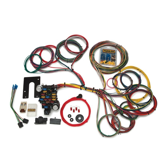Painless 20104 Classic-Plus Customizable Muscle Car Harness 28 Circuits