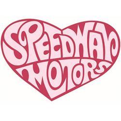 Speedway Heart Decal