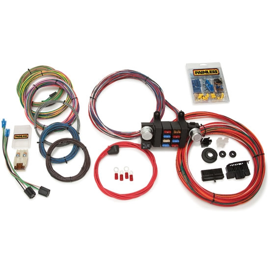 painless wiring 10308 18 circuit modular wiring harness rh speedwaymotors com painless 18 circuit wiring harness painless 18 circuit wiring harness