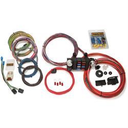 speedway universal 20 circuit wiring harness 12 Circuit Wiring Harness painless wiring 10308 18 circuit modular wiring harness