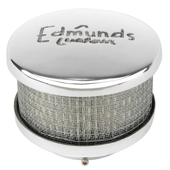 Edmunds Custom Air Cleaner, Short, 2-5/8 Inch Neck
