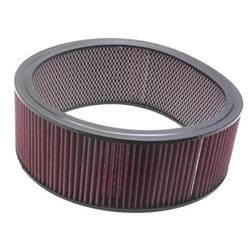 Speedway Washable Air Filter Element, 14 x 5 Inch