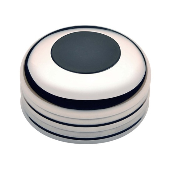 "GT Performance 11-1020 GT3 Standard ""No Logo"" Horn Button, Polished"