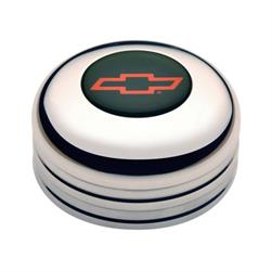 GT Performance 11-1022 GT3 Standard Chevy Bowtie Horn Button, Polished