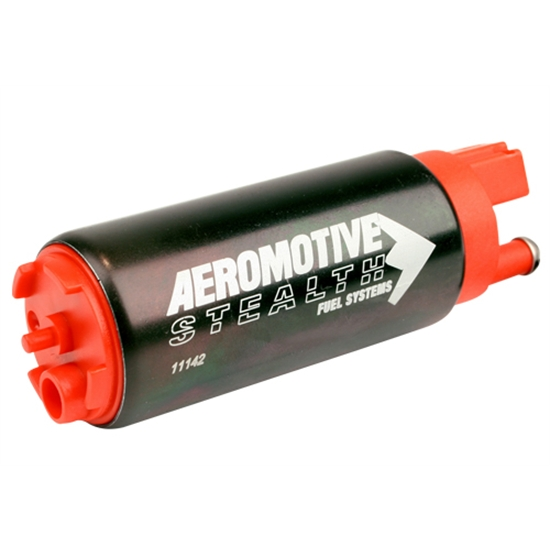 Aeromotive 11142 340 Stealth Fuel Pump, Offset Inlet and Outlet