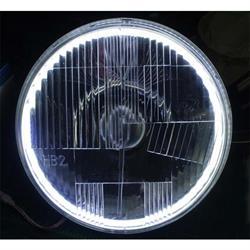 Delta 01-1149-HIDH 7 Inch HID DOT Halo Headlights