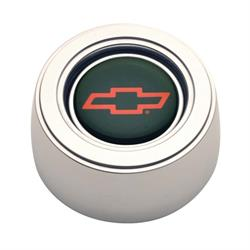 GT Performance 11-1522  GT3 Hi-Rise Chevy Bowtie Horn Button, Polished