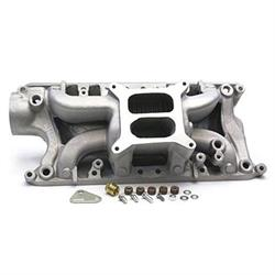 Professional Polished 289-302 Ford Power+ Crosswind Intake Manifold