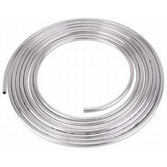 Aluminum Hard Fuel Line/Tubing, 3/8 Inch O D