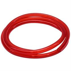 Red See-Through Fuel Line, 3/8 Inch I.D. x 6 Ft.