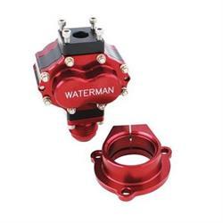 Waterman 200040S Micro-Bertha Steel Sprint Fuel Pump, .400