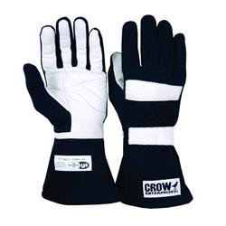 Crow Enterprizes 11684 Junior Racing Gloves, SFI5, M-L