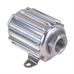 Professional Products 10215 Polished Aluminum Fuel Filter with Mount