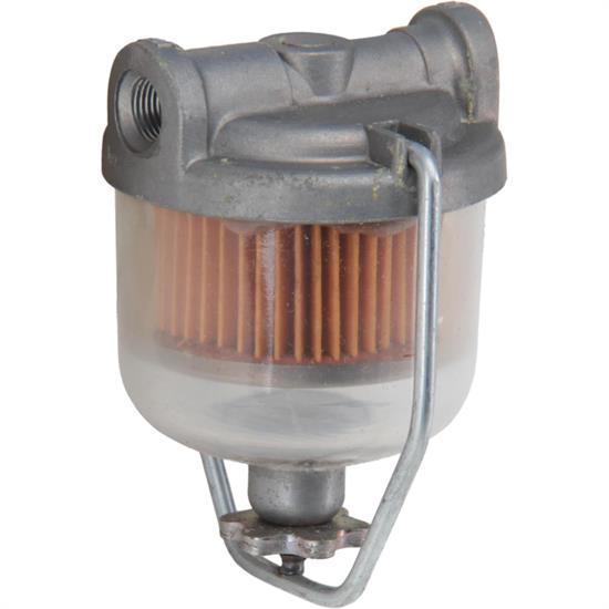 glass bowl fuel filter Fram Fuel Filter Assembly