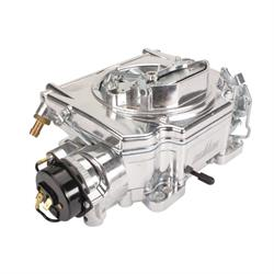 Street Demon 1900 625 CFM 4 Barrel Carburetor, Ball Burnished Alum
