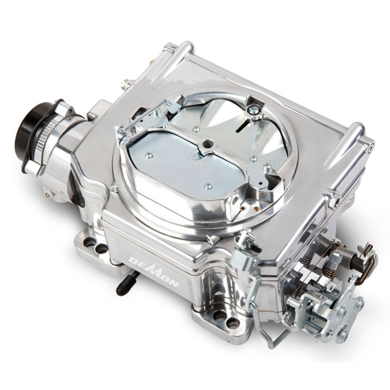Street Demon 1902 625 CFM 4 Barrel Carburetor, Polished Aluminum