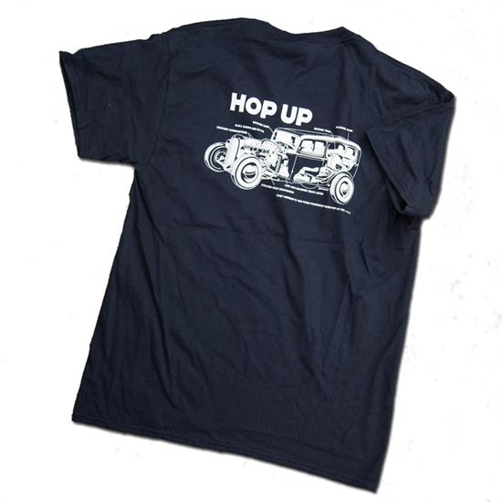 Hop Up Chet Herbert T-Shirt, Black