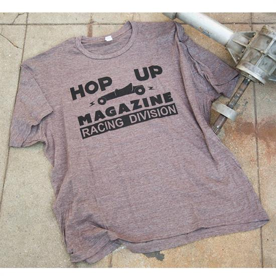 Hop Up Racing Division T-Shirt, Grey