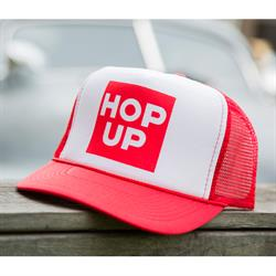 Hop Up Trucker Hat, Red
