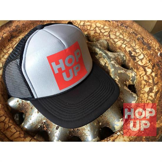 Hop Up Trucker Hat, Black