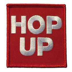 Hop Up Embroidered Patch
