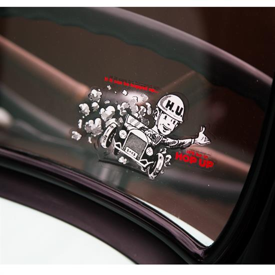 Hop Up Water Slide Decal, Roadster Man