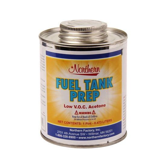 Fuel Tank Prep Low VOC Acetone, 1 Pint