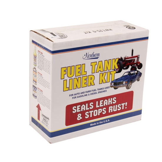 Gas Fuel Tank Cleaner/Prep/Liner Leak Repair Kit