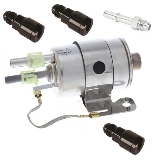 Speedway GM LS V8 Fuel Filter/Fuel Regulator Kit, 58 PSI