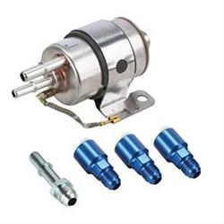 Speedway GM LS V8 Fuel Filter/Fuel Regulator Kit, 58 PSI