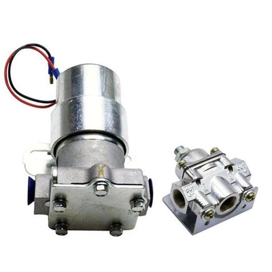 "High Flow Performance Electric Fuel Pump 115 GPH Universal Fit 3//8/"" NPT Ports"