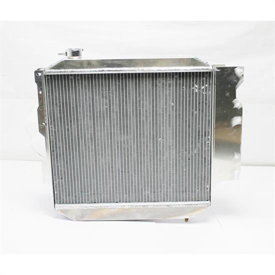 1987-04 Jeep Wrangler Radiator, V8 Conversion, Auto Trans