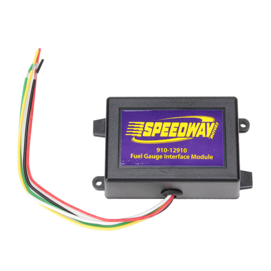 speedway fuel level gauge sending unit interface module  universal fit,  1 28