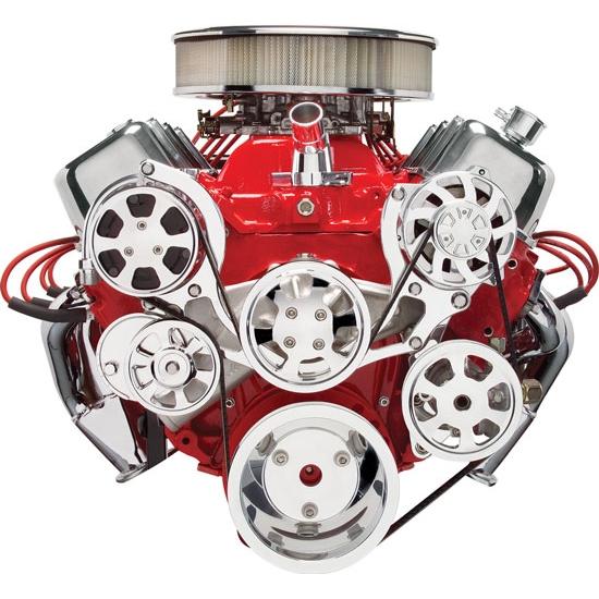 BILLET SPECIALTIES Power Steering Reservoir Smooth 77910