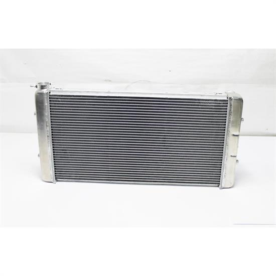 1955-57 Chevy Bel-Air Radiator, V8 Crossflow, Auto Trans