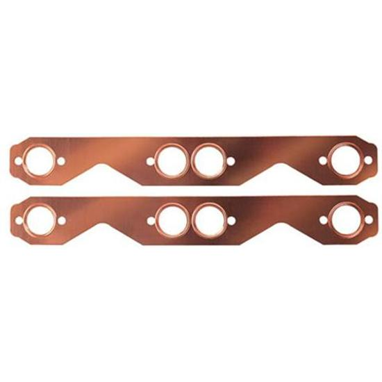 Copper Seal Exhaust Header Gaskets Small Block Chevy Round Port