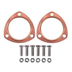 Copper Collector Exhaust Gaskets, 3-1/2 Inch