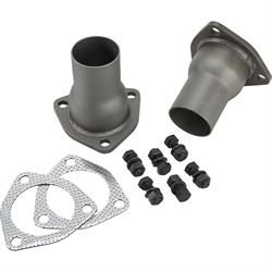 Speedway 3-Bolt Header Collector Reducer Kit, 2-1/2 to 2 Inch