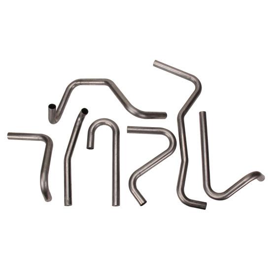 Assorted Mild Steel Header Tubing Pipe Mandrel Bends, 1-1/2 Inch