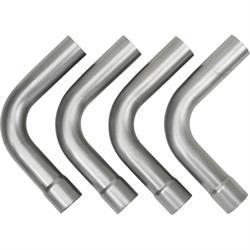 Universal Mild Steel Dual Exhaust Mandrel Bend Kit, 2-1/2 Inch