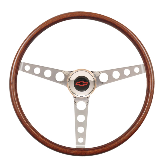 GT Performance 14-4337 GT3 Classic Wood Steering Wheel