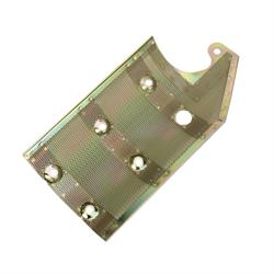 Small Block Chevy Screen Mesh Oil Pan Windage Tray, Zinc Plated