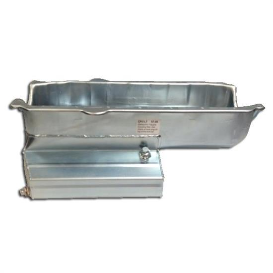 Champ Pans CP57LTRB Engine Oil Pan, 7 Inch, 1 Piece