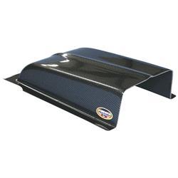 Oil Cooler Scoop, Carbon Fiber Look, 11 Inch Wide x 7 Inch Deep