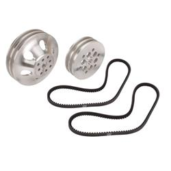 Speedway 30% Reduction Pulley Combo for S/B Chevy Short Pump